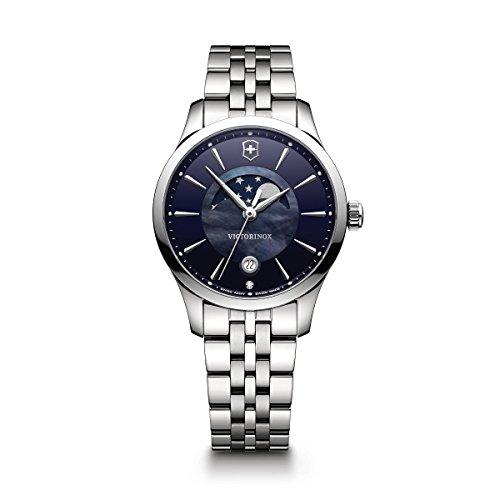 Reloj Victorinox Swiss Army para Mujer 35mm, pulsera de Acero Inoxidable
