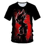 ZZDYRSRE Camiseta de Regalo de Anime-C_3XL