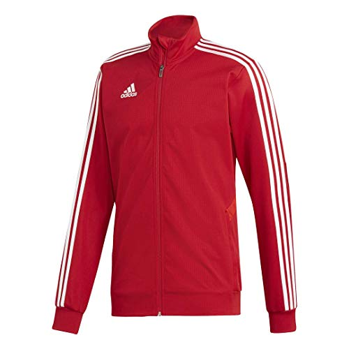 adidas Men's Tiro 19 Training Jackets (L, Power Red/Red/White)