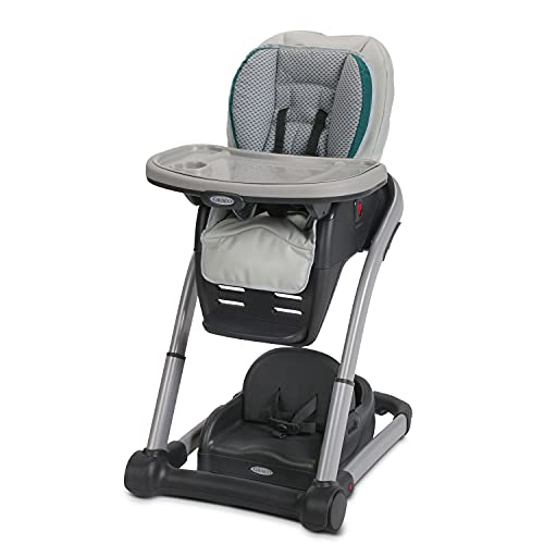 Graco Blossom 6 in 1 Convertible High Chair, Sapphire