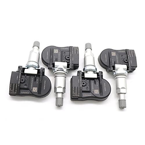 SSXPNJALQ Sensor de Monitor de presión de Llantas TPMS 1K0907255C Ajuste para Audi S4 S5 Q5 A3 A4 A5 Quattro SQ5 Volkswagen EOS Passat Beetle Golf R32 (Color : 4 pcs)