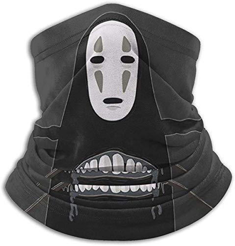 asdew987 No Face Gym Spirited Away Kaonashi - Máscara facial para polvo, al aire libre, festivales, deportes