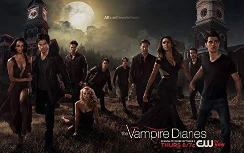 The Vampire Diaries Season 5 (22inch x 14inch/56cm x 35cm) Waterproof Poster No Fading