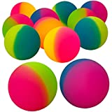Best Bouncy Balls - Jumbo Super Bouncy Balls - (Pack of 12) Review
