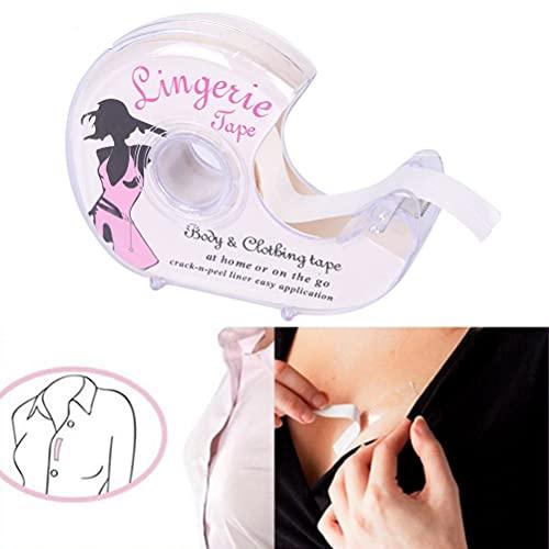 Ruban Adhésif Double Face Corps Fashion Tape Femme Peau Colle Cache Teton Invisible pour Lingerie Vêtements Chemise Soutien-Gorge Robe