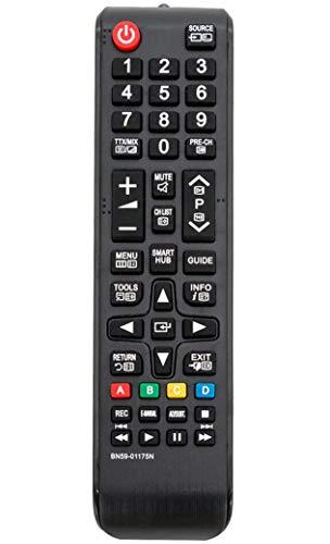 ALLIMITY BN59-01175N Fernbedienung Ersetzen für Samsung LED LCD Plasma LE26B350F LE32B460 PS42B430 PS50B430 PS50B430P2W UE40H6470SS UE40H6500 UE40H6500SL UE40H6640SL UE40H6650SL UE40H6670SL