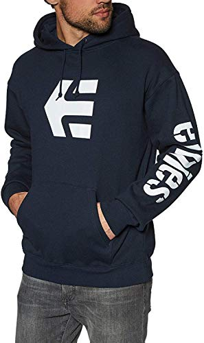 Etnies Icon Pullover Hoody Large Navy