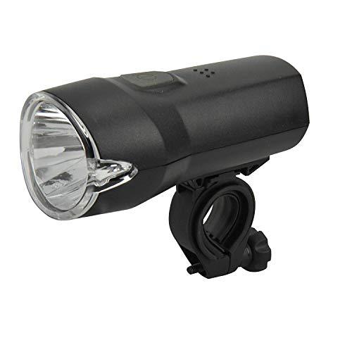 DANSI LED batterij koplamp, 30/15 Lux, StVZO-toegelaten, 44011/44019, zwart