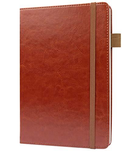 B6 Dotted Journal de Scribbles That Matter - Crea tu Bujo perfecto con papel ultragrueso de 160 g / m2 sin sangrado - Cuaderno de tapa dura - Plumas estilográficas Papel amigable - Tostado