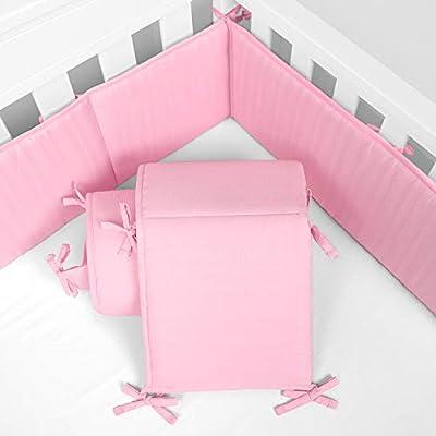 TILLYOU Silky Soft Microfiber Crib Bumper
