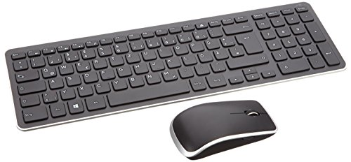 Dell 580-18380 Wireless Tastatur und Maus German Kit schwarz