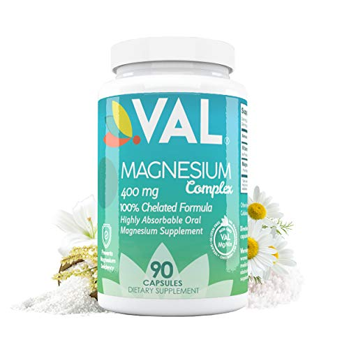 Magnesium Glycinate, Citrate, Taurate & B6 | Maximum Absorption & Bioavailability | Magnesium Deficiency Treatment | Stress Relief | Natural Pain Relief | No Laxative Effect | Non-GMO | 90 caps