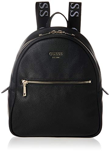 Guess Damen Vikky Backpack Bags HOBO, Schwarz, Einheitsgröße