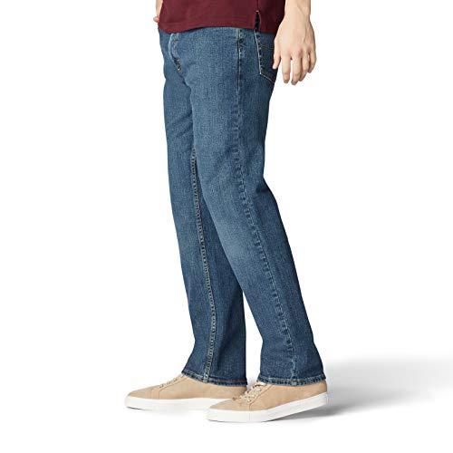 Lee Men's Regular Fit Straight Leg Jean, Chief, 28W x 30L