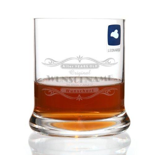 Leonardo Whiskyglas mit gratis Gravur von Namen, Alter & Ort Motiv: Special Flavour