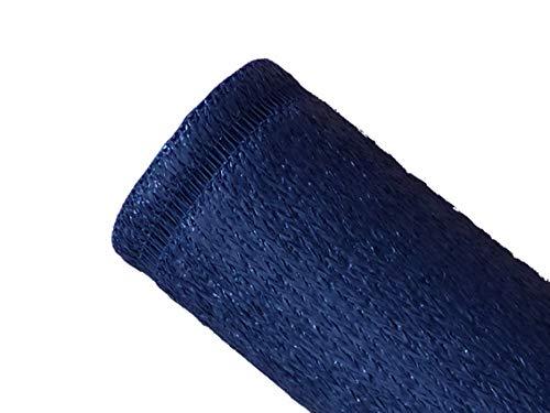 MAILLESTORE Brise-Vue 100% - Bleu - 230gr/m² - Boutonnières 1m x 5m