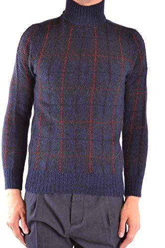 Luxury Fashion | Woolrich Heren MCBI38337 Donkerblauw Polyamide Truien | Seizoen Outlet