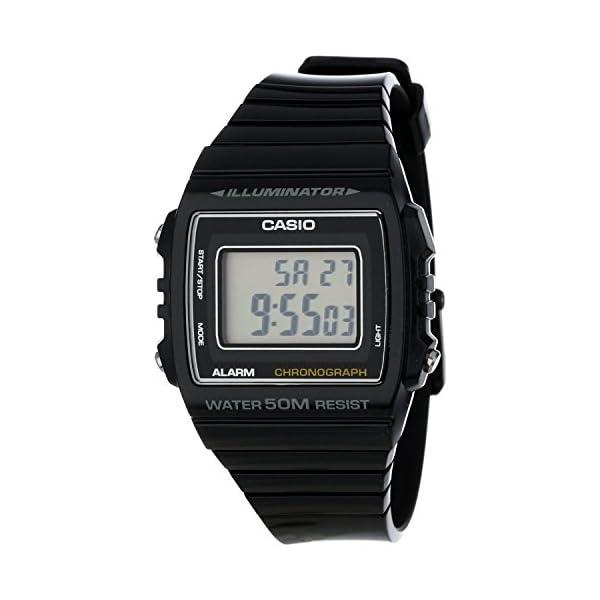 Casio W-215H-8AVEF, Reloj Digital de Cuarzo para Hombre con Correa de Resina,