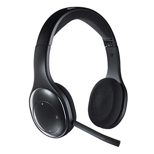 ロジクール ヘッドセット パソコン用 H800r ステレオ USB レシーバー経由ワイヤレス / Bluetooth 接続 充電式 ノイズキャンセリングマイク 搭載 折り畳み式 テレワーク リモートワーク Web会議 国内正規品 2年間メーカー保証
