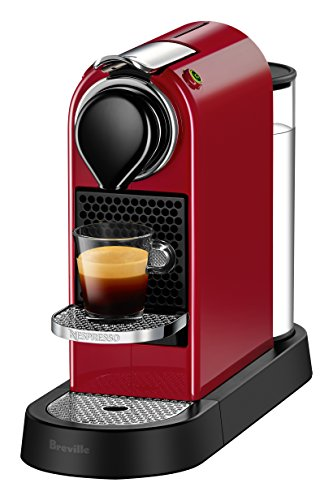 Breville-Nespresso USA BEC620RED1AUC1 CitiZ Espresso Machine, 5.1 x 10.9 x 14.6 inches, Red