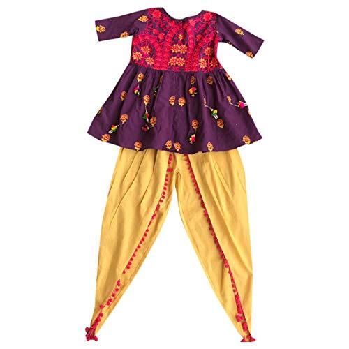 SHRI BALAJI SILK & COTTON SAREE EMPORIUM Frauen Kedia Sammlung Indische Bollywood Ethnische Dandiya Tanz Navratri Ready-to-wear 7201