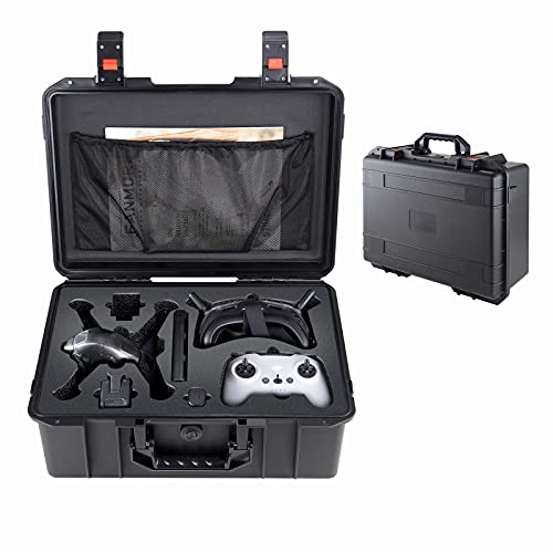 Waterproof Suitcase for DJI FPV Drone - Durable Protective Storage Case for FPV Starter Kit &DJI FPV Racing Drone & DJI FPV Motion Controller &DJI FPV Goggles
