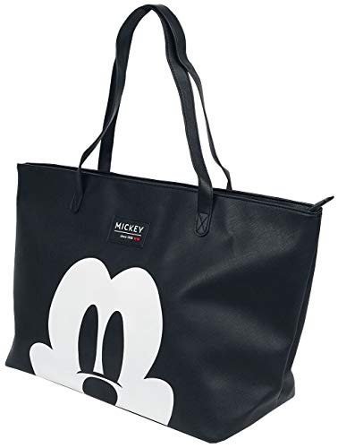 Disney Shopper für Damen Mickey Mouse - 30 L - Schwarz