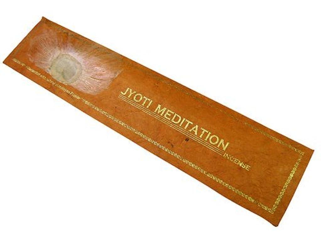 貴重な感心するただNEPAL INCENSE ネパールのロクタ紙にヒマラヤの押し花のお香【JOYTI MEDITATIONジョティメディテーション】 スティック