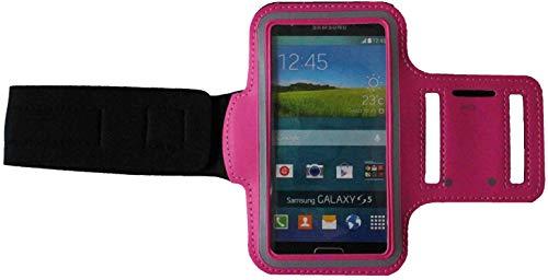 Sport-Armband Wasserfest Fitness-Tasche für Sony Xperia X Compact, XZ1 Compact, XZ2 Compact Fitness Lauf-hülle Arm-Tasche Kopfhöreranschluss Blank Mittel Dunkel-Pink