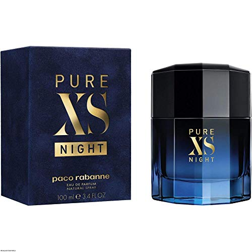 Pure XS Night by Paco Rabanne Eau De Parfum Spray 3.4 oz / 100 ml (Men)