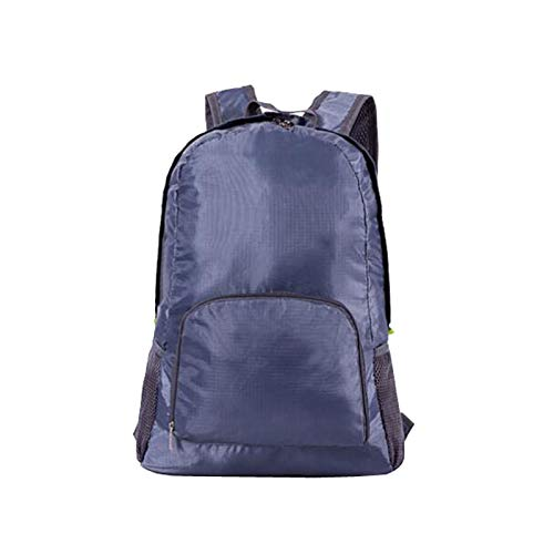 Sac à dos de randonnée pliable et léger 35 l pour l'extérieur, sac à dos de sport, de voyage, de camping pour femme, gris, Taille unique