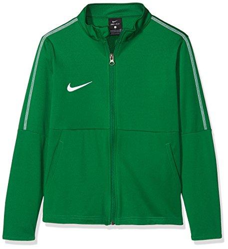 NIKE Y Nk Dry Park18 Trk Jkt K Sport Jacket, Unisex niños, Pine Green/White/(White), L