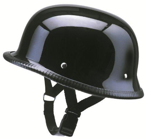 Media de cuencos (motocicleta casco jet RK 300fibra de vidrio negro redbike S–XXL)