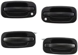 Escalade Avalanche Silverado Suburban 99 - 07 Front Rear Texture Door Handle Set