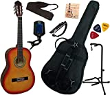 Pack Guitare Classique 3/4 (8-13ans) Pour Enfant Avec 7 Accessoires (sunburst)
