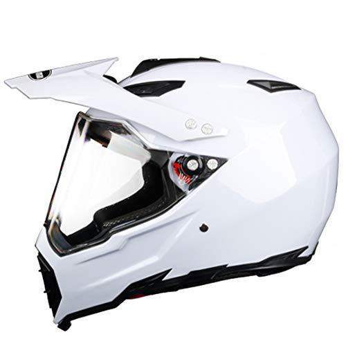 Casco de Motocicleta de Rostro Completo Off Road Motocross Hemet Touring Modular