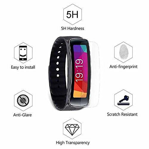 Superior ZRL® Smart Sport Uhr TPU Displayschutzfolie Ultra Thin Anti Kratzer Fingerabdruck Anti Explosion HD TPU Film Für Samsung Gear Fit R350 Uhr