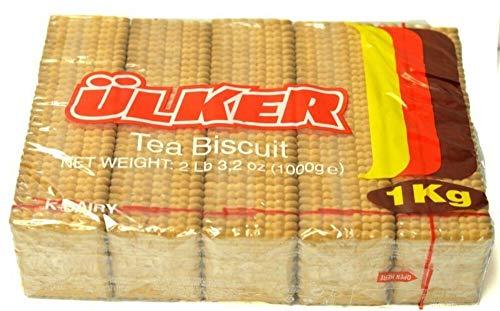 Ulker Tea Biscuits, 2.2lb (1000g) (2.2 lbs)