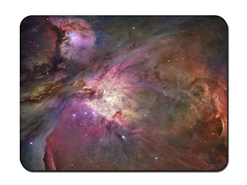 Alfombrilla de ratón - Nebulosa de Orión Telescopio Espacial Hubble - Rectángulo Personalizado Alfombrilla de Goma Antideslizante Alfombrilla de ratón para Juegos