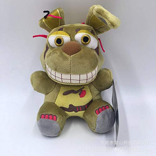 LLMZ Five Nights at Freddy'S,Five Nights at Freddy'S Bonnie Plush, FNAF Bonnie Plush Doll Toy Stuffed