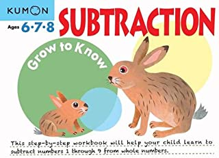 Grow to Know: Subtraction (Ages 6 7 8)