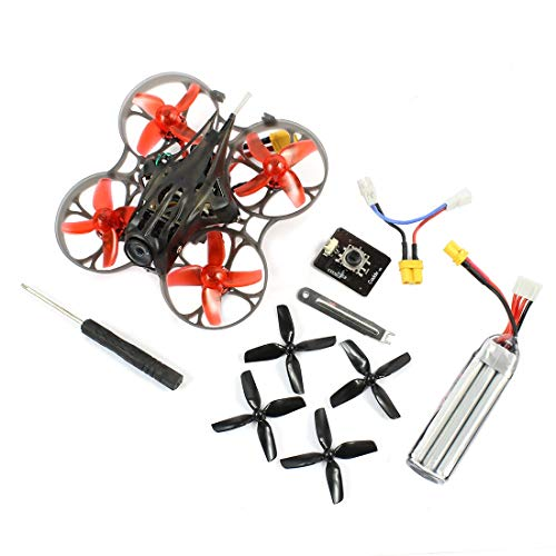 Happymodel Mobula7 HD 2-3S 75mm Crazybee F4 Pro BWhoop FPV Racing Drone PNP BNF with CADDX Turtle V2 HD FPV Mini Camera Apron Gate (Flysky Receiver)