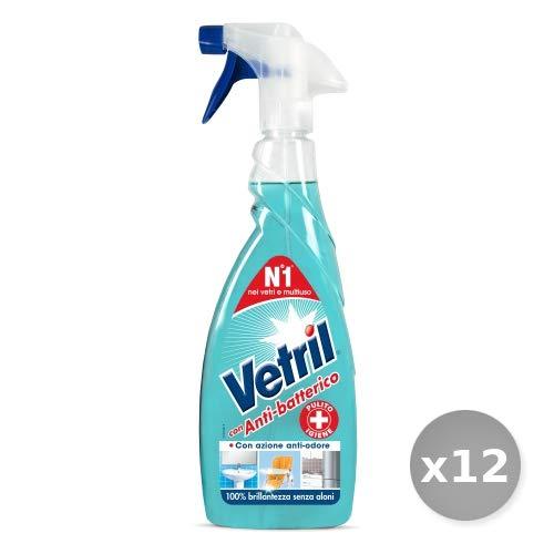 Vetril Set 12 Multisuperfici Anti-batterico Trigger 6 50 ml Prodotto per la casa