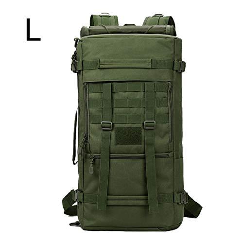 XA808WA Wandelrugzak, bergbeklimmen, rugzak, klimmen, mol, nylon, legertas, reizen, camping, vissen, outdoor, inhoud 60 l
