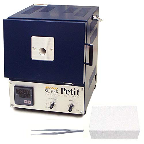 家庭用 小型 電気炉 スーパープチ お買い得セット(ピンセットとシリカボードをプラス)