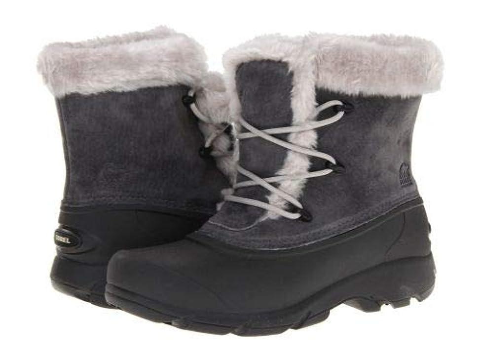 にぎやかお誕生日不道徳SOREL(ソレル) レディース 女性用 シューズ 靴 ブーツ アンクルブーツ ショート Snow Angel(TM) Lace - Charcoal [並行輸入品]