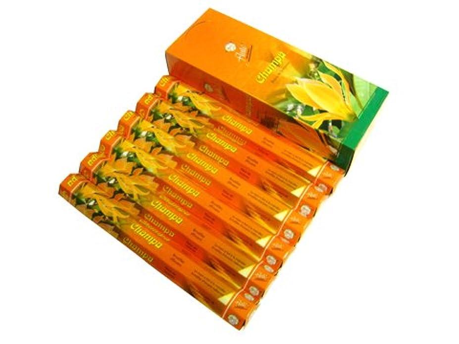 医師アラブジョセフバンクスFLUTE(フルート) チャンパ香 スティック CHAMPA 6箱セット