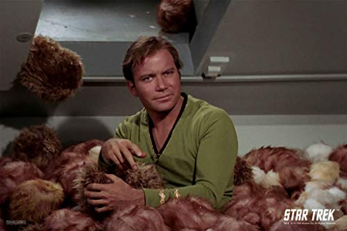 Pyramid America Star Trek The Trouble with Tribbles Captain Kirk Funny Classic The Original Series TOS TV Television Episode Merchandise Cool Wall Decor Art Print Poster 12x18