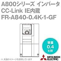 三菱電機(MITSUBISHI) FR-A840-0.4K-1-GF CC-Link IE内蔵インバータ 三相400V (容量:0.4kW) (FMタイプ) NN
