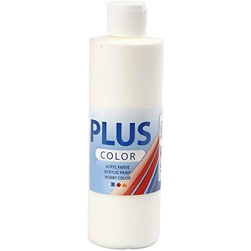 Creativ 39437 Plus - Pintura acrílica para manualidades, color blanco roto, 1 botella de 250 ml